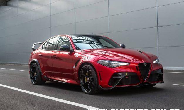Alfa Romeo Giulia GTA o mais potente da história da marca
