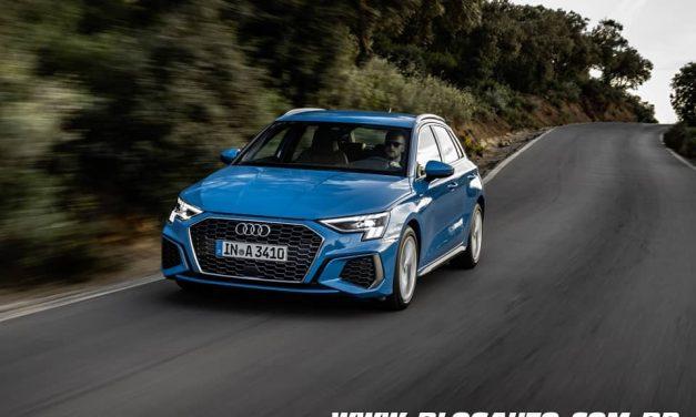 Audi A3 2021 nova geração chega na Europa