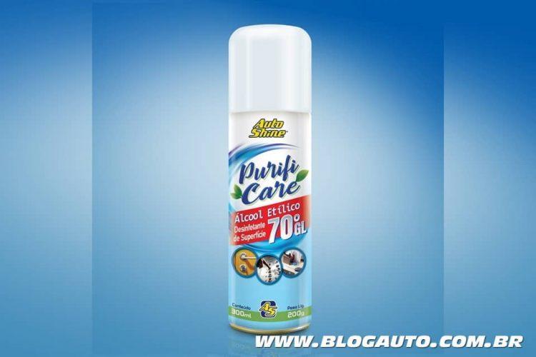 Autoshine Purifi Care Aerosol álcool etílico 70