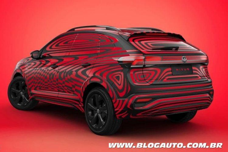 Fernando Calmon - Volkswagen Nivus camuflado