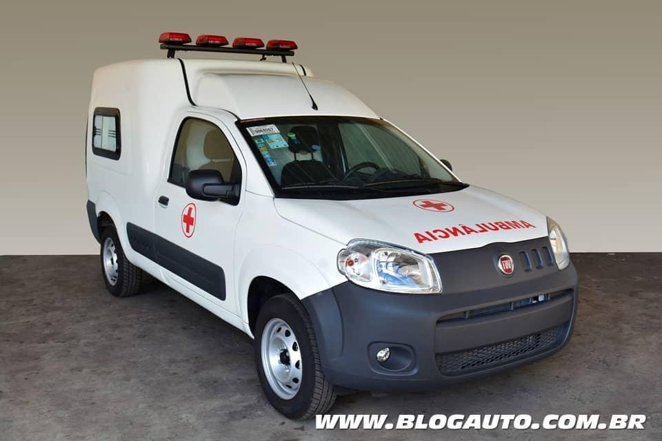 Fiat Fiorino Ambulância chega em boa hora