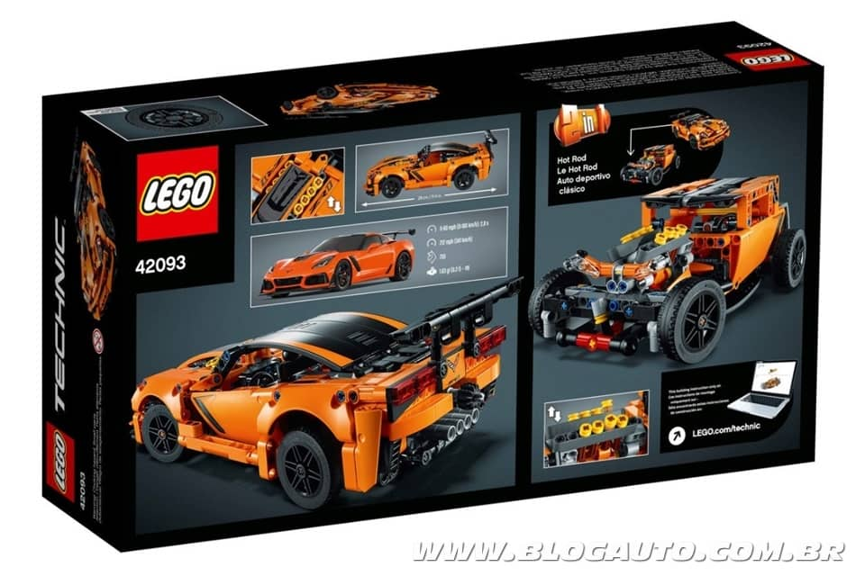 Lego Technic Chevrolet Corvette ZR1