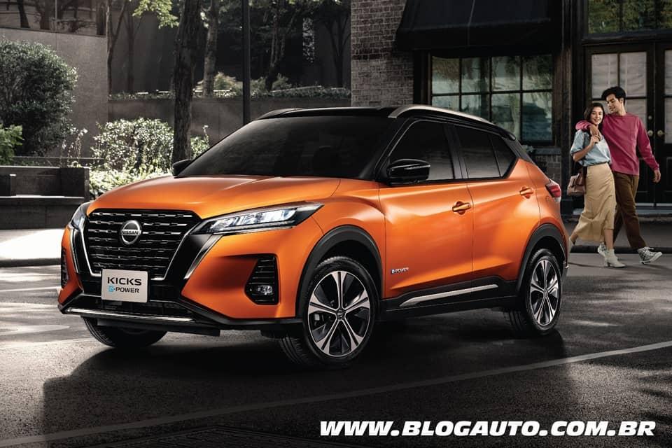 Nissan Kicks 2021 estreia primeiro na Tailândia