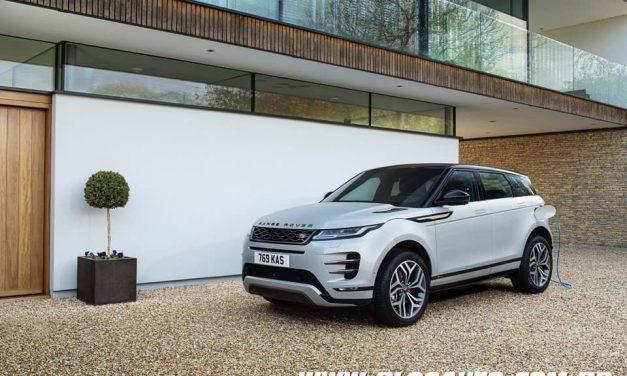 Land Rover Evoque e Discovery Sport com versões híbridas plug-in