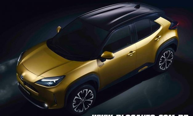 Toyota Yaris Cross novo suv que deverá chegar ao Brasil