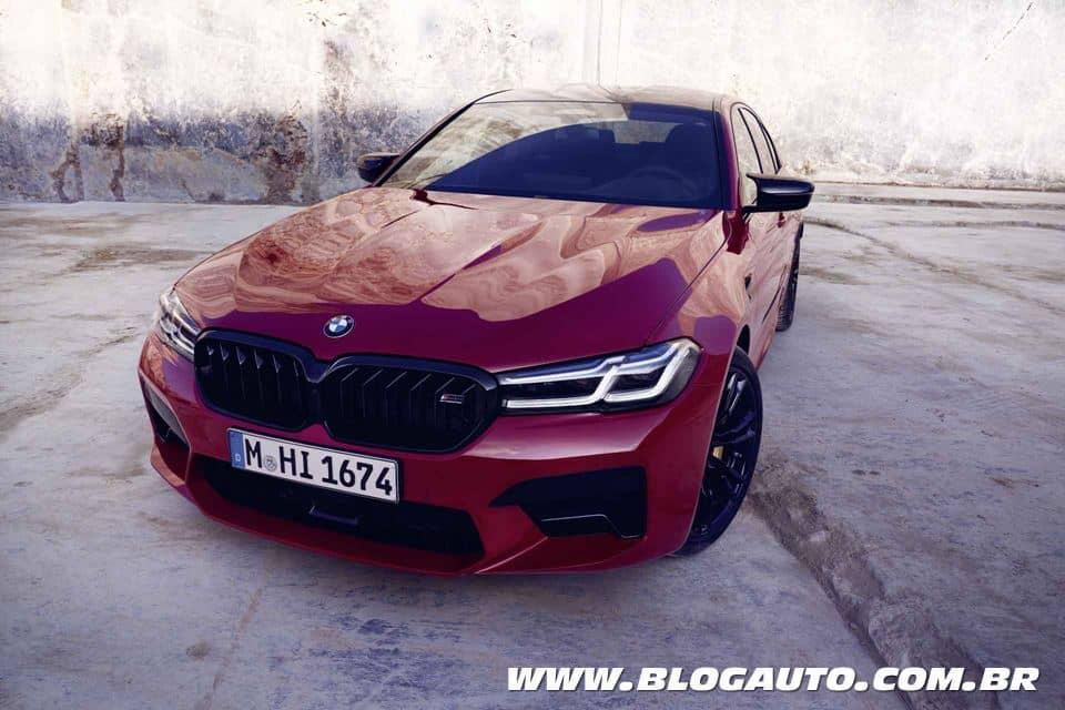 BMW M5 2021 ganha facelift e continua com 625 cv