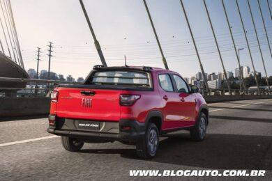 Fiat Strada 2021 Freedom Cabine Dupla