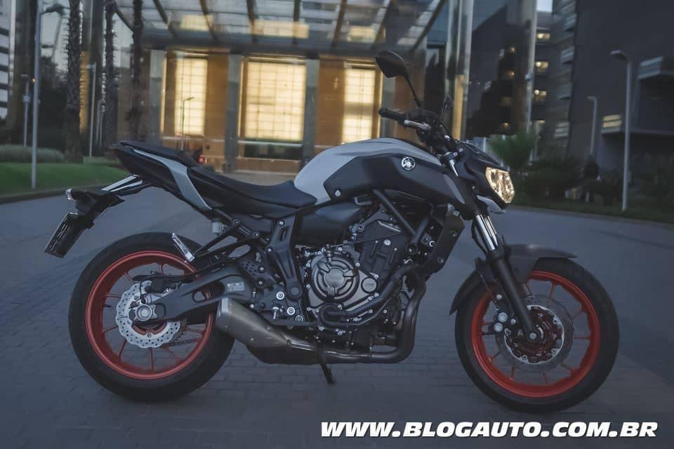 Yamaha MT-07, 75 cv de potência por R$ 37.900