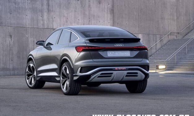 Audi Q4 Sportback mais uma opção elétrica da marca