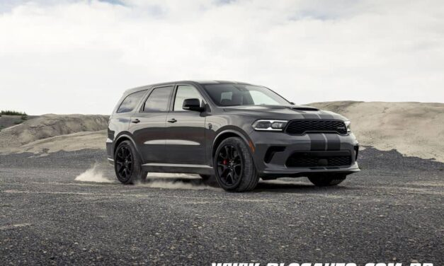Dodge Durango SRT Hellcat 2021 o SUV mais potente do mundo