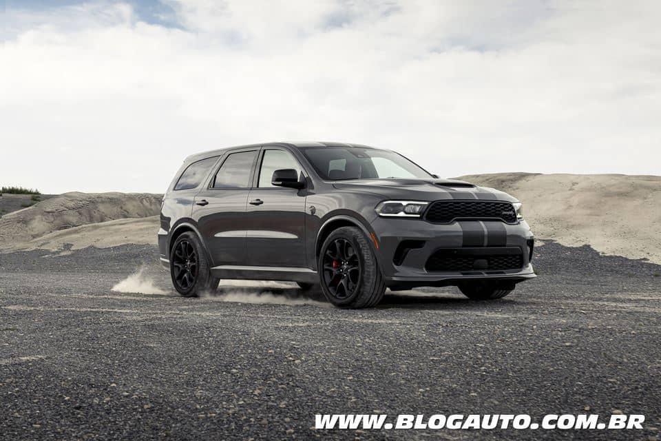 Dodge Durango SRT Hellcat 2021 o SUV mais potente do mundo