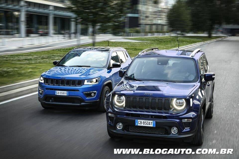 Jeep Renegade 4xe e Jeep Compass 4xe, motor turbo e híbrido e vem para o Brasil