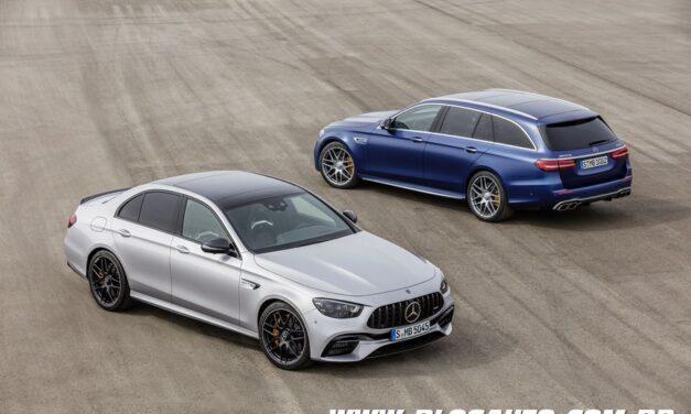 Mercedes-AMG E63S 2021 recebe facelift e mantém a wagon!!!!