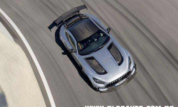 Mercedes-AMG GT Black Series com 740 cv, o mais forte V8 da marca