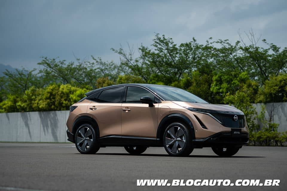 Nissan Ariya crossover elétrico apresenta novo momento da marca