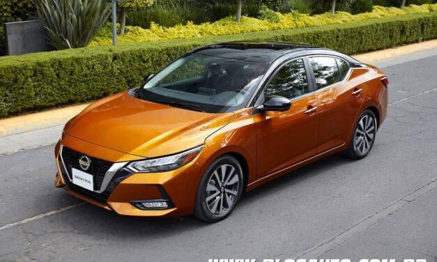Nissan Sentra com início da produção no México, logo chega aqui