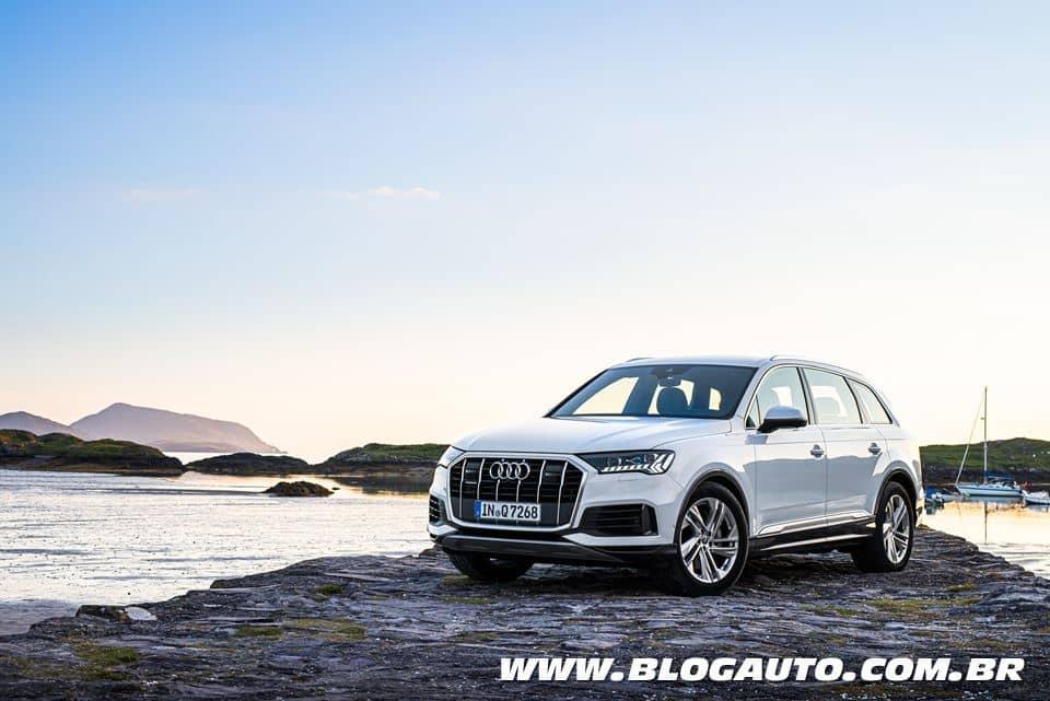 Audi Q7 2021 recebe facelift e chega por R$ 414.990