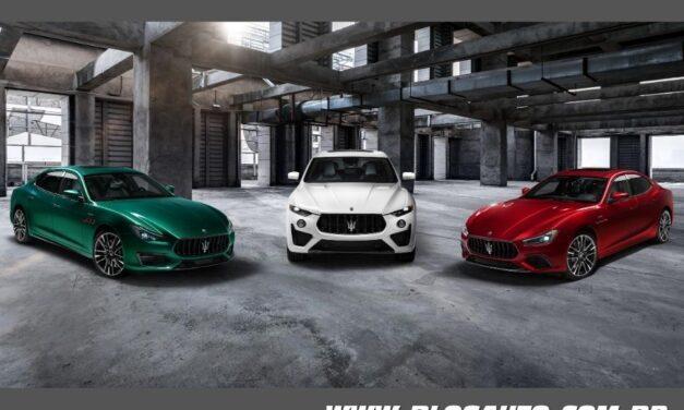 Maserati Trofeo equipada com motor V8 Ferrari