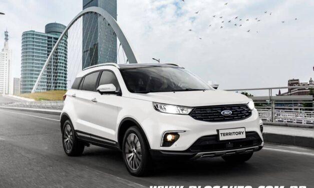 Ford Territory chega preparado para enfrentar Compass e Tiguan