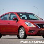 Nissan Versa V-Drive muda de nome para chegada na nova geração
