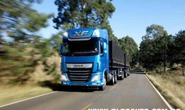 DAF XF caminhões extra-pesados chegam renovados