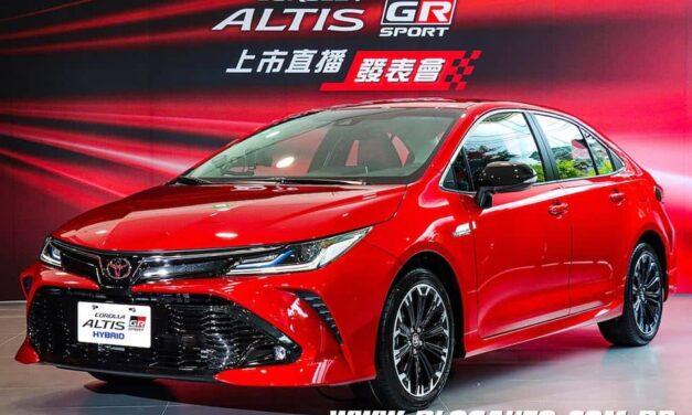 Toyota Corolla Gazoo Racing vem ai, esportivo de verdade?