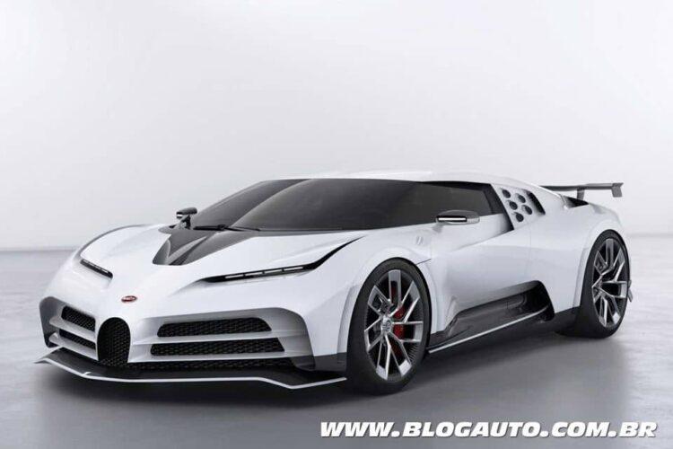 Fernando Calmon - Os 10 mais potentes - Bugatti Centodieci
