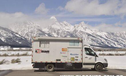 A Casa Nômade viajou 125 mil km de Mercedes-Benz Sprinter