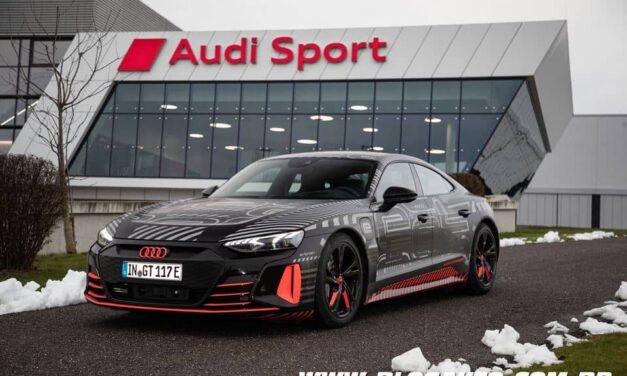 Audi e-tron GT 100% elétrico confirmado em 2021 no Brasil