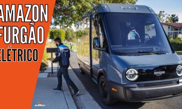 AMAZON terá FURGÃO ELÉTRICO de entregas feito pela RIVIAN