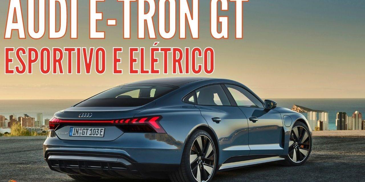 Audi faz estreia mundial dos novos Audi e-tron GT e Audi RS e-tron GT