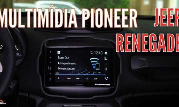 Como instalar a CENTRAL MULTIMÍDIA PIONEER com TV no JEEP RENEGADE