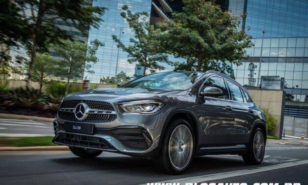 Mercedes-Benz GLA 200 AMG Line chega renovado por R$ 325.900