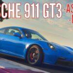 PORSCHE 911 GT3 992 mantém motor aspirado de 510 cv e câmbio manual