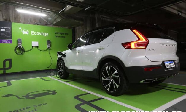 Volvo terá 250 eletropostos em estacionamentos da Estapar