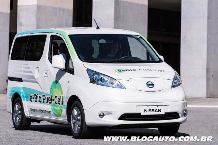 Nissan desenvolve no Brasil com o IPEN, carro com célula de combustível com etanol